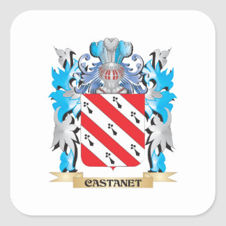 Castanet Coat of Arms - Family Crest Sticker