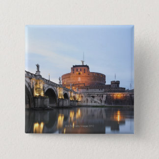 Castel Sant' Angelo 15 Cm Square Badge