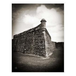 Castillo de San Marcos (St. Augustine, Florida) Postcard