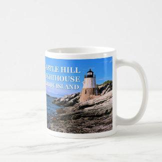 Castle Hill Lighthouse, Rhode Island Coffee Mug