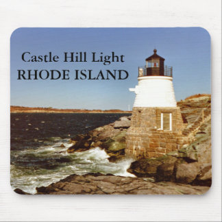 Castle Hill Lighthouse, Rhode Island Mousepad