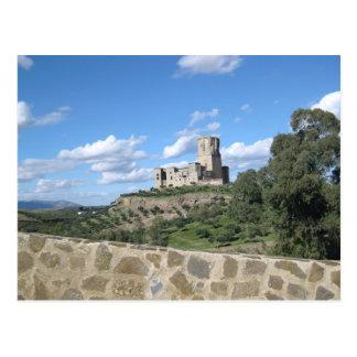 Castle in Spain Postcard