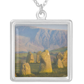 Castlerigg Stone Circle, Lake District, Cumbria, Silver Plated Necklace