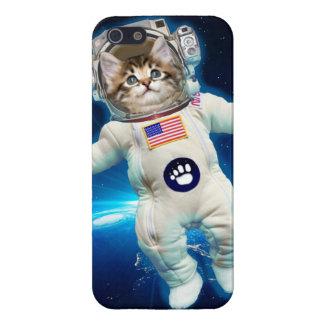 Cat astronaut - space cat - Cat lover iPhone 5/5S Covers