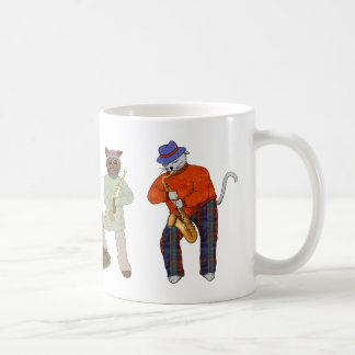 Cat Band Jammin' Coffee Mug