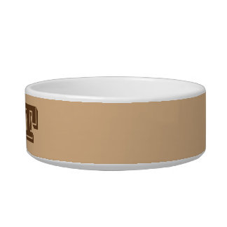 Cat Bowl by Janz Small in Tan
