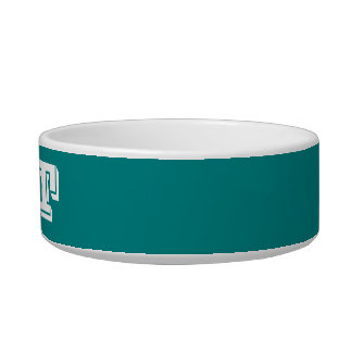 Cat Bowl by Janz Small in Teal