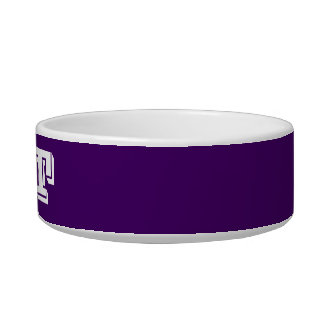 Cat Bowl by Janz Small Purple