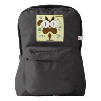 Cat(Brown) Backpack, Black Backpack