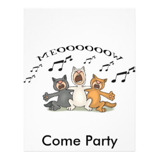 Cat Choir 21.5 Cm X 28 Cm Flyer