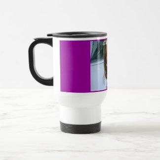 cat cute stainless steel travel mug