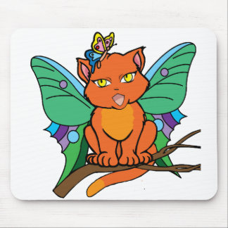Cat-er-Fly Mouse Pad
