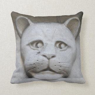Cat-face gargoyle pillow/cushion cushion