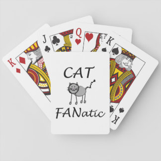 Cat Fanatic Playing Cards
