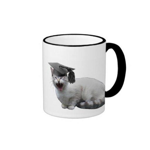 Cat Graduation Mug
