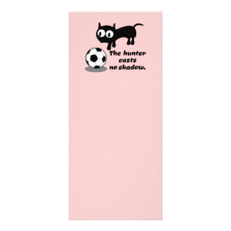 Cat Hunting A Ball Rack Card