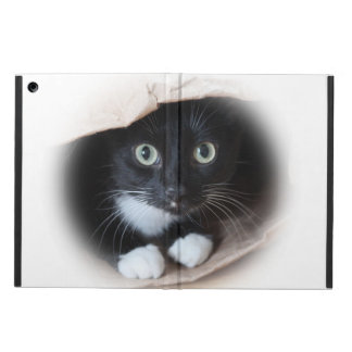 Cat in a bag iPad air case