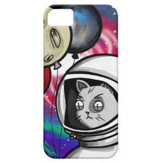 Cat in Space Barely There iPhone 5 Case