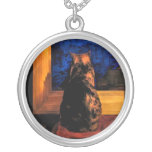 Cat in the Window Necklace