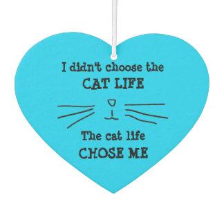 """""""CAT LIFE"""" Air Freshener"""