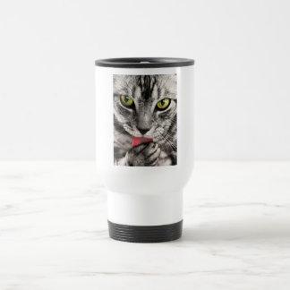 Cat Look 15 Oz Stainless Steel Travel Mug