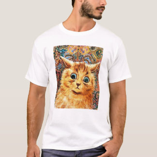 Cat, Louis Wain T-Shirt
