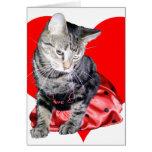 "Cat ""Love Bug"" Valentine's Day car... - Customised Greeting Card"