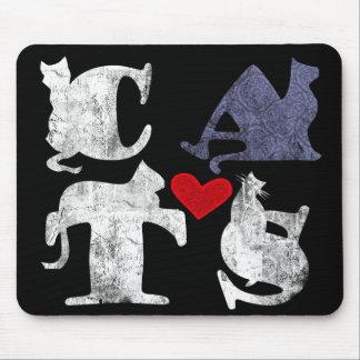 'Cat Love' Mousepad