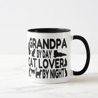 Cat Lover Grandpa Mug