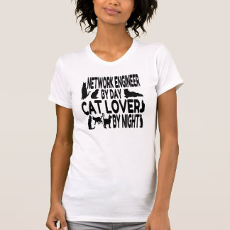 Cat Lover Network Engineer T-Shirt
