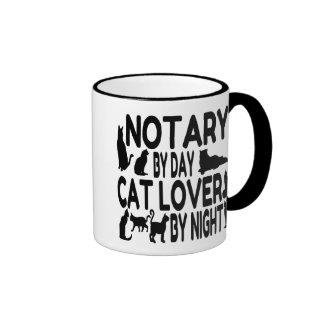 Cat Lover Notary Ringer Mug