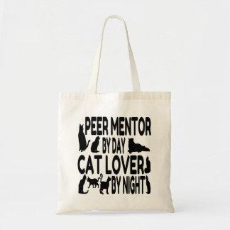 Cat Lover Peer Mentor Budget Tote Bag
