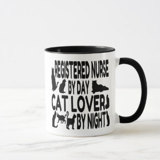 Cat Lover Registered Nurse Mug