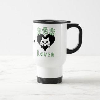 Cat Lover Stainless Steel Travel Mug