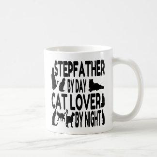 Cat Lover Stepfather Basic White Mug