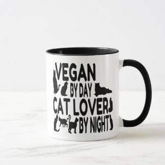 Cat Lover Vegan Mug