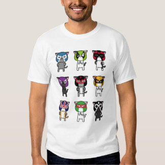 CAT LUCHADORES TEES