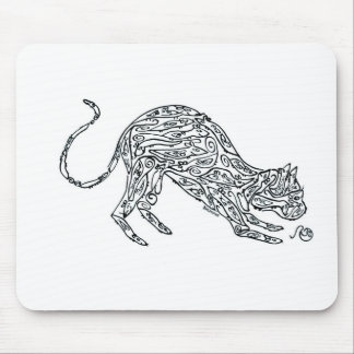 Cat made of Mice Mouse Pad
