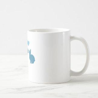 Cat Meets Bunny Coffee Mug