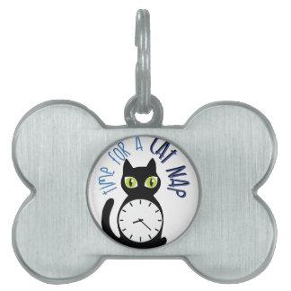 Cat Nap Pet Tag