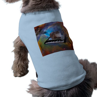 Cat on a Keyboard in Space Shirt