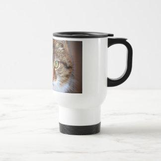 Cat Photo Stainless Steel Travel Mug