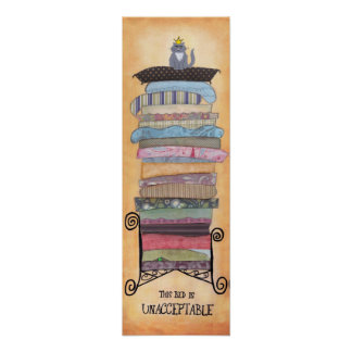 Cat Princess and the Pea Poster