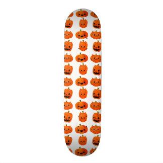 Cat Pumpkin Head Pattern Custom Skateboard