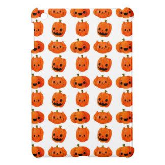 Cat Pumpkin Head Pattern iPad Mini Cover