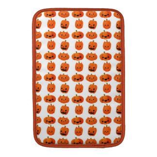 Cat Pumpkin Head Pattern Sleeve For MacBook Air