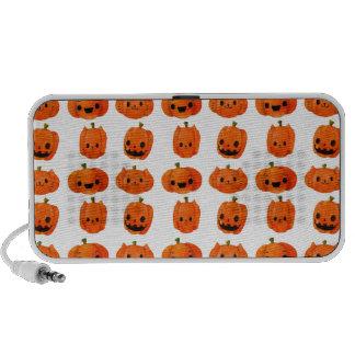 Cat Pumpkin Head Pattern Speaker System