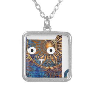 cat simple.jpg square pendant necklace