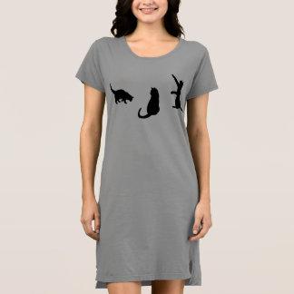 Cat T-Shirt Dress