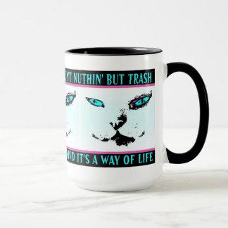 "Cat themed ""Melvin The Cat"" Jazz Quote - Coffee Mu Mug"